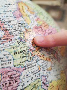 Grundkenntnisse Geografie über Deutschland